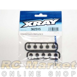 XRAY 362315 Eccentric Bushing Set (2)