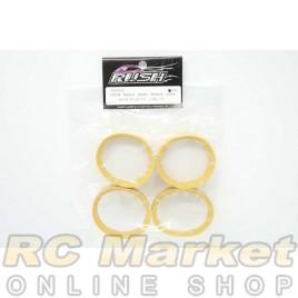 RUSH RU0345 RUI-M Molded Inserts Medium Yellow