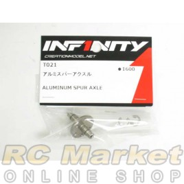 INFINITY T021 IF14 Alu Spur Axle