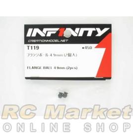 INFINITY IF14 Flange Ball 4.9mm (2pcs)