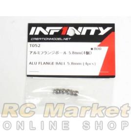 INFINITY T052 IF14 Alu Flange Ball 5.8mm (4pcs)