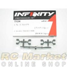 INFINITY T124 IF14 C-Blade Protector (4pcs/Black)