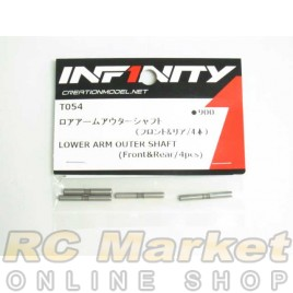 INFINITY T054 IF14 Lower Arm Outer Shaft (Front & Rear/4pcs)