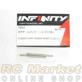 INFINITY T053 IF14 Lower Arm Inner Shaft (2pcs)