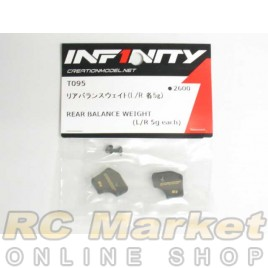 INFINITY IF14 Rear Balance Weight (L/R Each 5g)