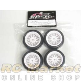 RUSH RU0455 Mini Tire 40 Round LM Wheel 0 Offset Preglued Set