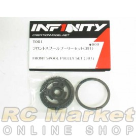 INFINITY T001 IF14 Front Spool Pulley Set (38T)
