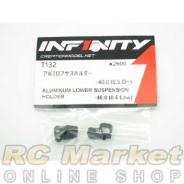 INFINITY IF14 Alu Lower Susupension Holder -40.0 (0.5 Low)