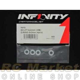 INFINITY IF14 O-Ring 5X2mm (4pcs)