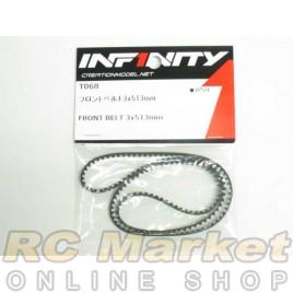 INFINITY IF14 Front Belt 3x513mm
