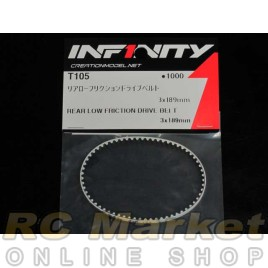 INFINITY IF14 Rear Low Friction Drive Belt 3x189mm