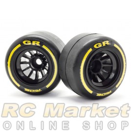 RIDE 26042 F1 Rubber Tires Rear Pre-Glued ( Type GR )