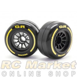 RIDE 26040 F1 Rubber Tires Front Pre-Glued ( Type GR )