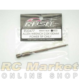 RUSH Allen Wrench 2.0x100mm Power Tip Only