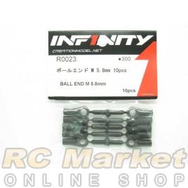 INFINITY R0023 IF18 Ball End M 5.8mm 10pcs