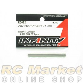 INFINITY IF18 Front Lower Arm Shaft 2pcs