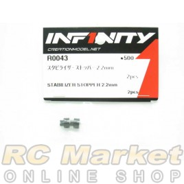INFINITY R0043 IF18 Stabilizer Stopper 2.2mm 2pcs