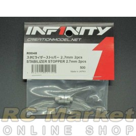INFINITY R0048 IF18 Stabilizer Stopper 2.7mm 2pcs