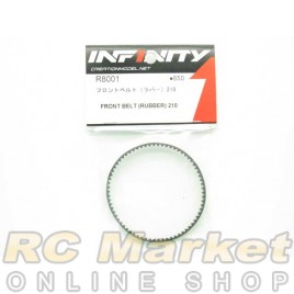 INFINITY R8001 IF18 Front Belt (Rubber) 210