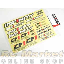 INFINITY R8031 IF18 Decal B White