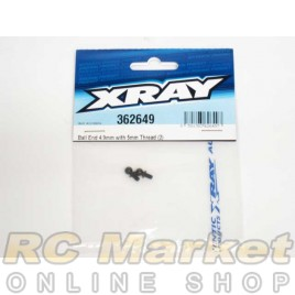 XRAY 362649 Ball End 4.9mm With Thread 5mm (2)