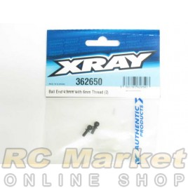 XRAY 362650 Ball End 4.9mm With Thread 6mm (2)
