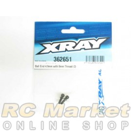 XRAY 362651 Ball End 4.9mm With Thread 8mm (2)
