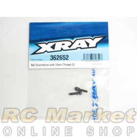 XRAY 362652 Ball End 4.9mm With Thread 10mm (2)