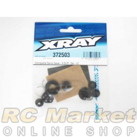 XRAY 372503 Composite Servo Saver - X-Stiff - Set - V2
