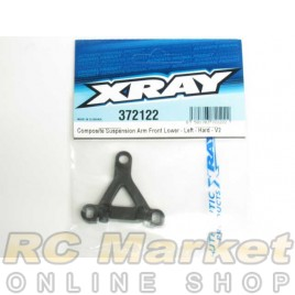 XRAY 372122 X12 Composite Suspension Arm Front Lower - Left - Hard - V2