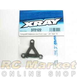 XRAY 372122 X12 Composite Suspension Arm Front Lower - Left - Hard - V2