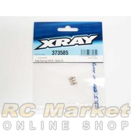 XRAY 373585 X12 Side Spring C=0.9 - Gold (2)