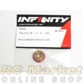 INFINITY T034 IF14 Alu Center Pulley 20T
