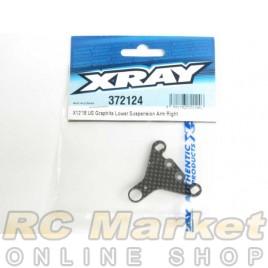 XRAY 372124 X12 US Graphite Lower Suspension Arm Right
