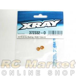 XRAY 372332-O X12 US Alu Bushing - Width 1.0mm (2)