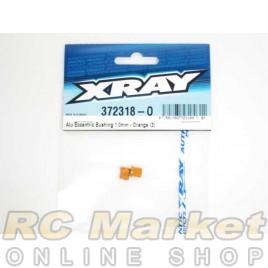 XRAY 372318-O X12 Alu Eccentric Bushing 1.0mm - Orange (2)