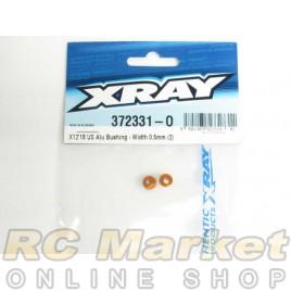 XRAY 372331-O X12 US Alu Bushing - Width 0.5mm (2)