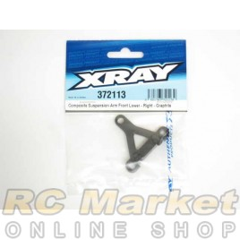XRAY 372113 Composite Suspension Arm Front Lower - Right - Graphite