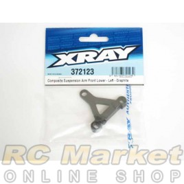 XRAY 372123 Composite Suspension Arm Front Lower - Left - Graphite