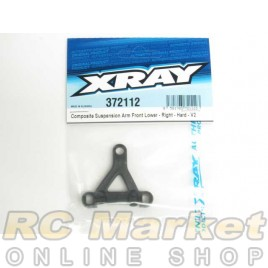 XRAY 372112 Composite Suspension Arm Front Lower - Right - Hard - V2