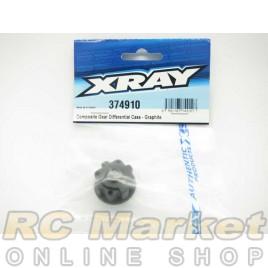 XRAY 374910 Composite Gear Differential Case - Graphite