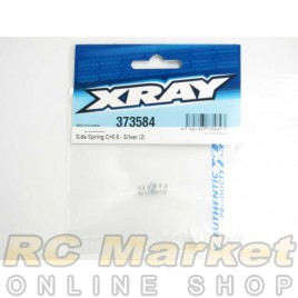 XRAY 373584 Side Spring C=0.6 - Silver (2)