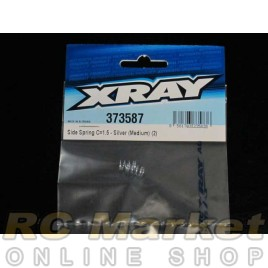 XRAY 373587 Side Spring C=1.5 - Silver (Medium) (2)