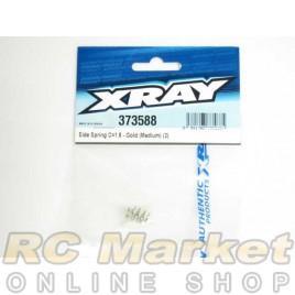 XRAY 373588 Side Spring C=1.8 - Gold (Medium) (2)