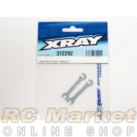 XRAY 372292 Steel Shim 0.2mm - Silver (2)