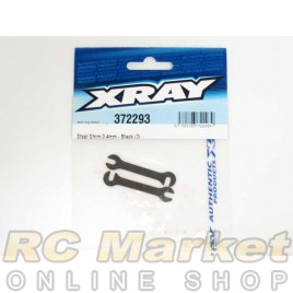 XRAY 372293 Steel Shim 0.4mm - Black (2)
