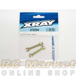 XRAY 372294 Steel Shim 0.6mm - Gold (2)