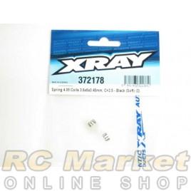XRAY 372178 Spring 4.05 Coils 3.6x6x0.45mm, C=2.5 - Black (Soft) (2)