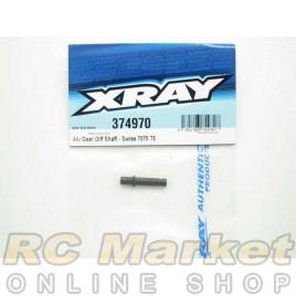 XRAY 374970 Alu Gear Diff Shaft - Swiss 7075 T6