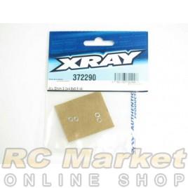XRAY 372290 Alu Shim 3.2x4.8x0.5 (4)